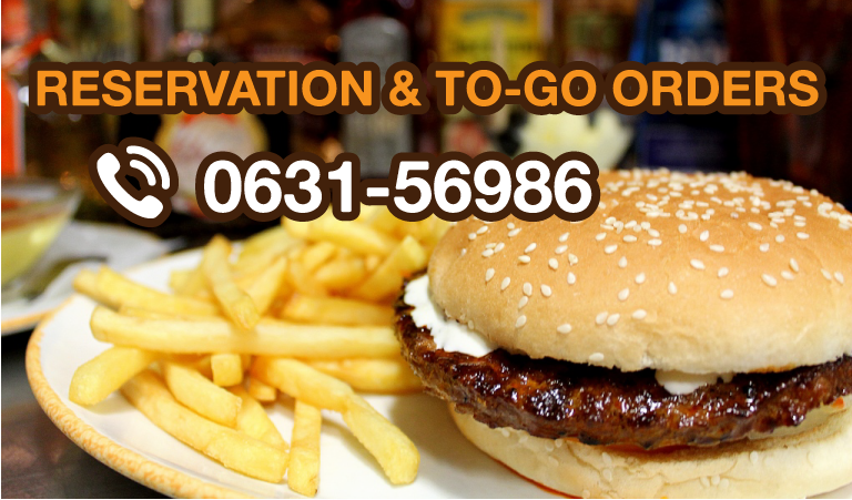 RESERVATION & TO-GO ORDER